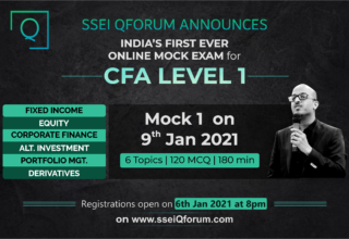 SSEI QFORUM ONLINE MOCK EXAMS FOR CFA LEVEL 1 CANDIDATES