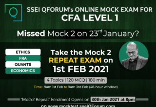 SSEI QForum's Online Mock Exam | Last opportunity to take the 4-Topic Mock 2 Exam | Enrolments Open