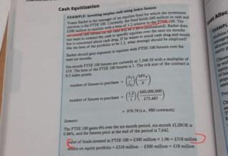 cash equitization