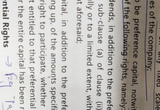Please explain the meaning of this provision relating to capital deemed to be pref capital