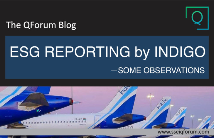 ESG REPORTING BY INDIGO: Some Observations